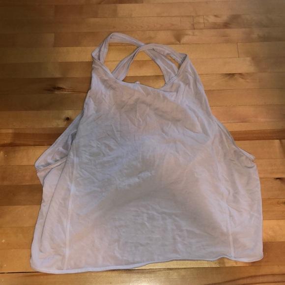 lululemon white workout tank